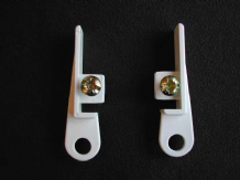 SWISH DELUXE CURTAIN TRACK END STOPS - HOOKS